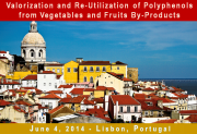Recovery, Valorization and Re-Utilization of Polyphenols from Vegetables and Fruits By-Products:  Workshop Organized during Lisbon Polyphenols 2014