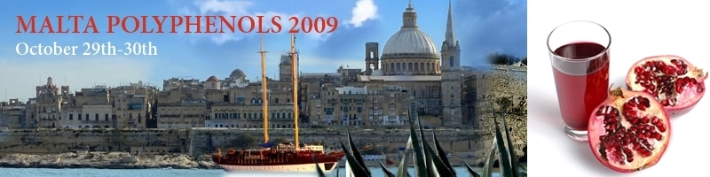 World congress on Polyphenols applications, October 29-30, 2011 Paris