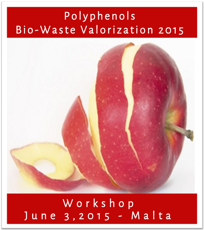 Utilization of By-products of Food Processing: Malta Polyphenols Pre-Conference Workshop